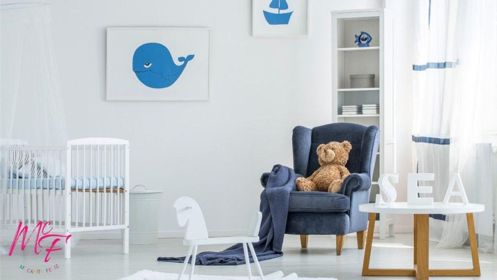 decoracion habitacion de bebe varon