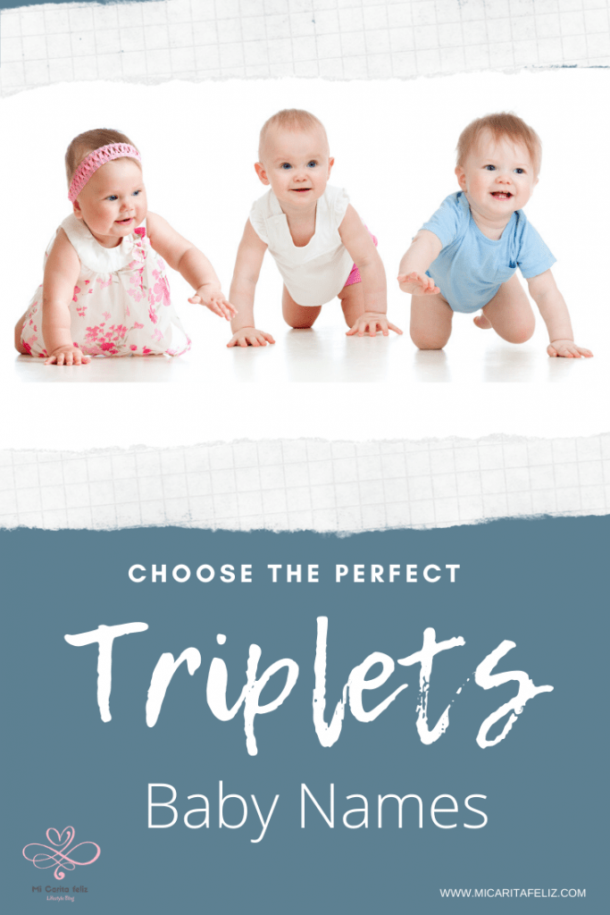 Triplets baby names for boys