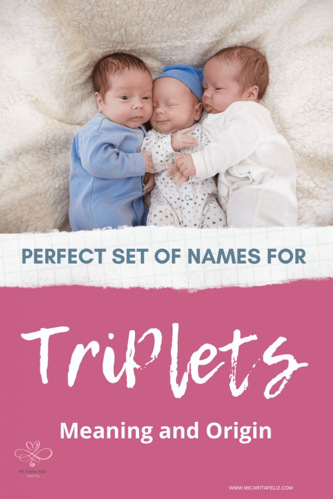 Triplets baby names