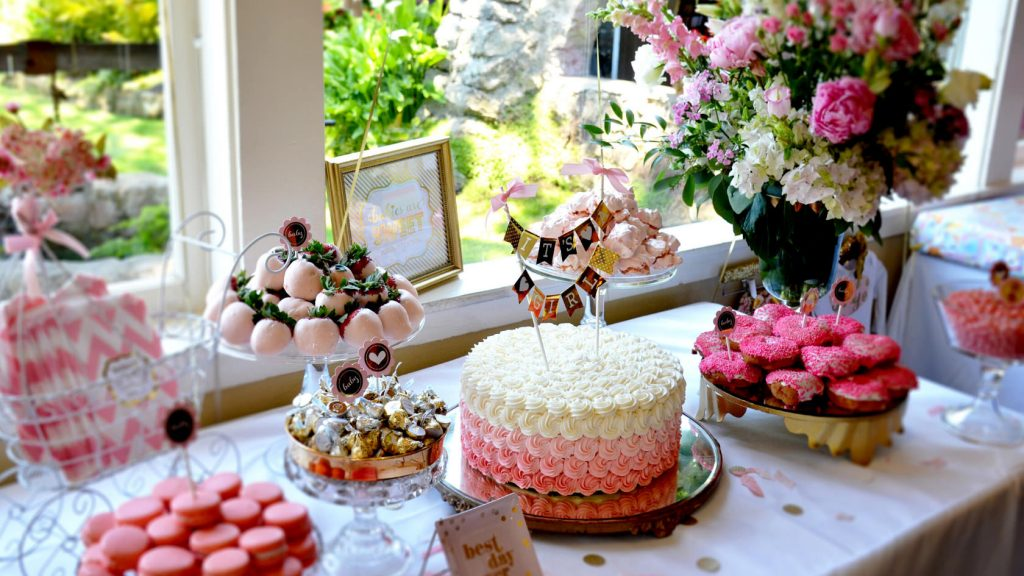 at home baby shower ideas