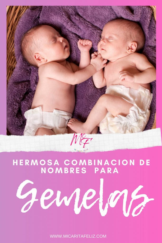 nombres para gemelas #nombresparagemelas