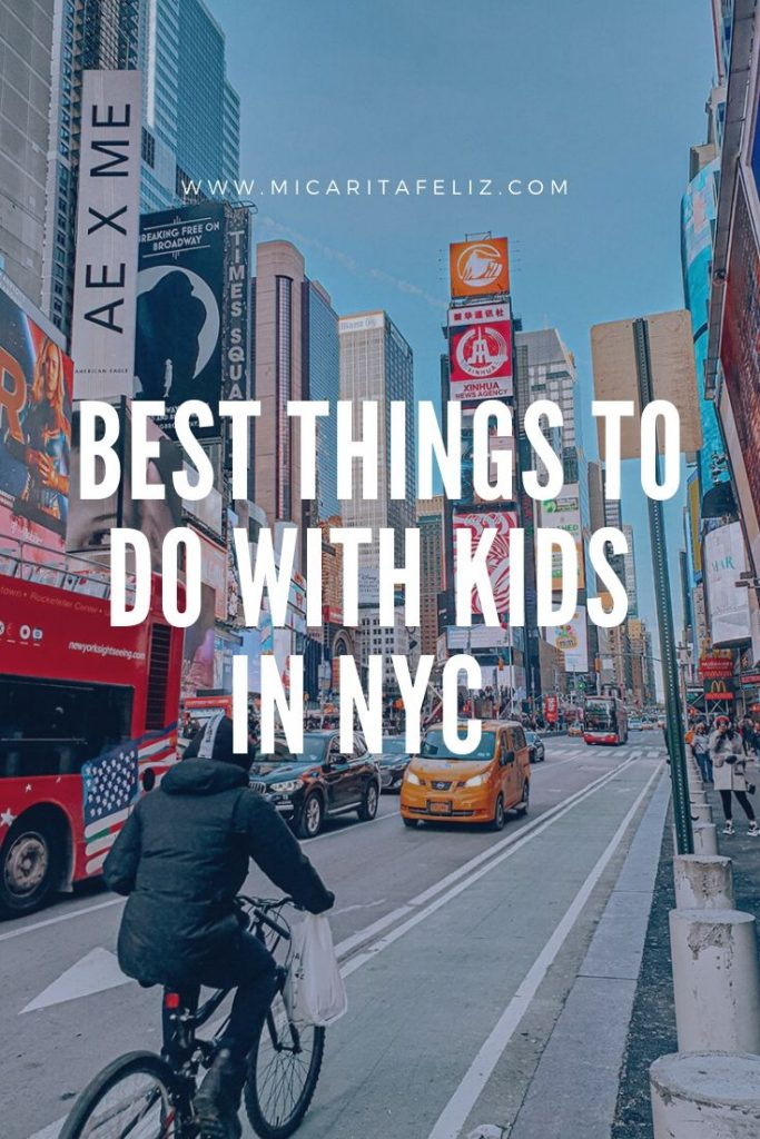 best things to do in NYC with kids
