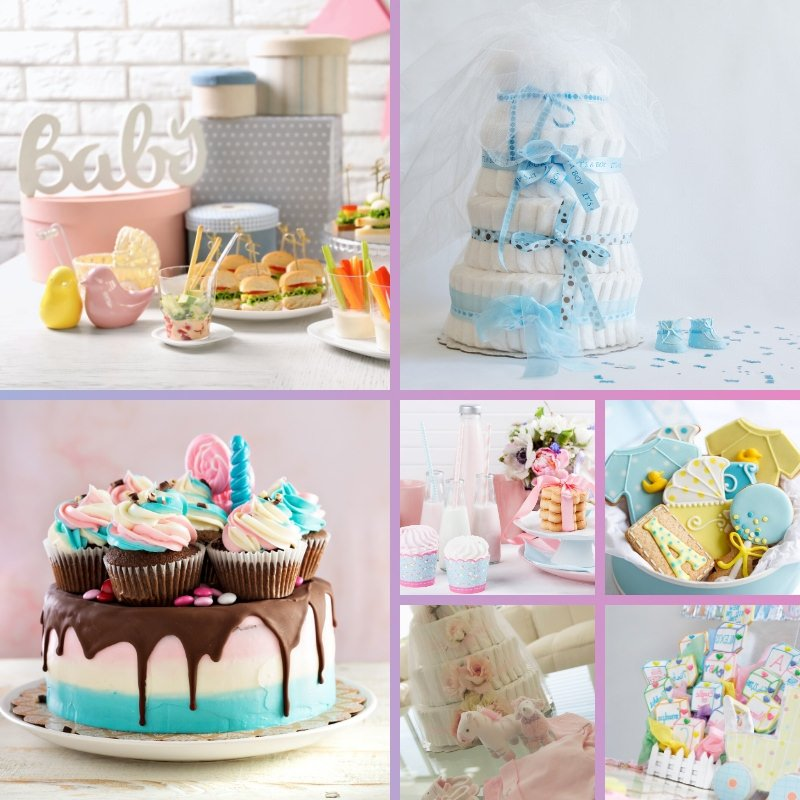 ideas decoración baby shower
