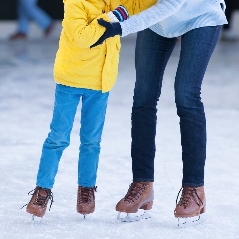 where to ice skating in new york city  with kids
