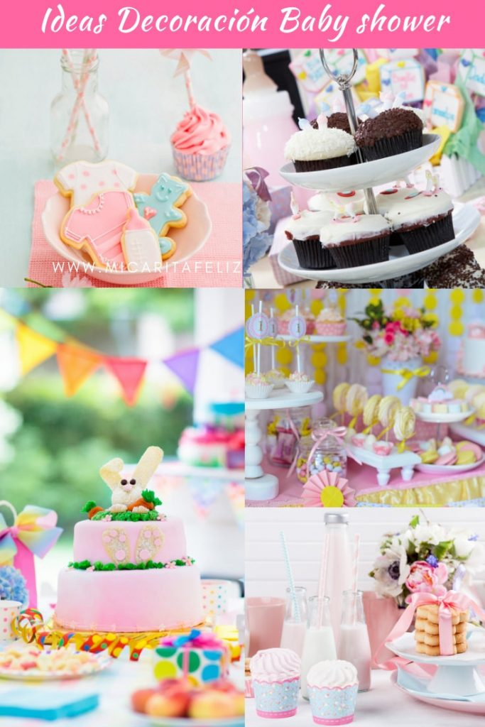 Ideas de decoración para baby shower