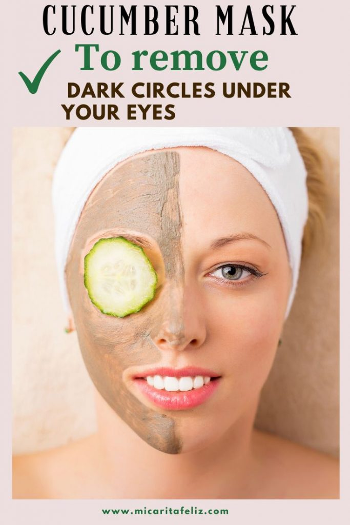 cucumber mask to remove dark circles